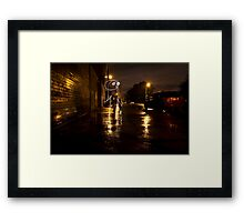 The Lights of Bayard Street Framed Print