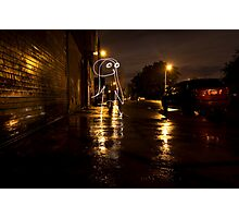 The Lights of Bayard Street Photographic Print