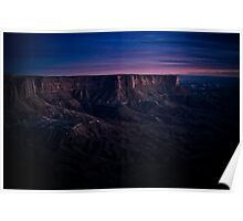 Twlight on Canyonlands Poster