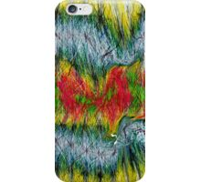 Fury abstract. iPhone Case/Skin