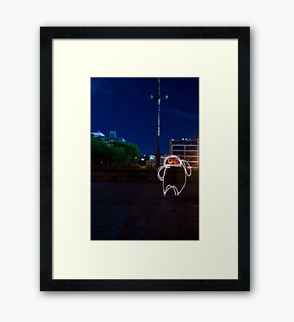 Negative Phase Velocity Framed Print