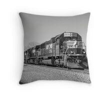 Black & White In Black & White Throw Pillow