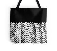 Half Knit Tote Bag