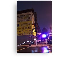 The Lights of Classon Avenue Canvas Print