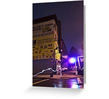 The Lights of Classon Avenue Greeting Card