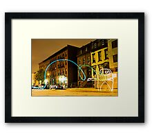 Recompression Shock Framed Print