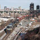 Urban Railroading by StonePhotos