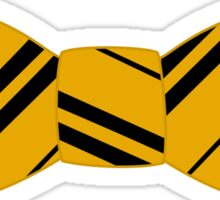 hufflepuff bow tie Sticker