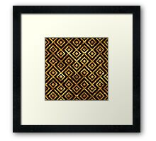 Sociable Virtuous Self-Disciplined Witty Framed Print