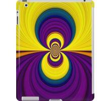 Purple And Yellow iPad Case iPad Case/Skin