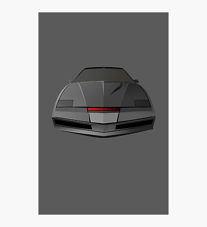Knight Rider KITT Car  Photographic Print