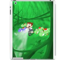 Super Jurassic Mario World iPad Case/Skin