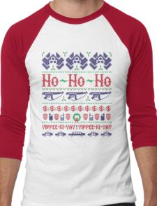 McClane Christmas Sweater Men's Baseball ¾ T-Shirt
