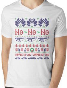 McClane Christmas Sweater Mens V-Neck T-Shirt