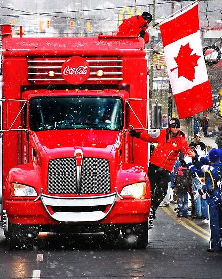 COCA-COLA Sponsors Winter Olympics 2010 by Laurie Minor