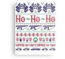 McClane Christmas Sweater Metal Print