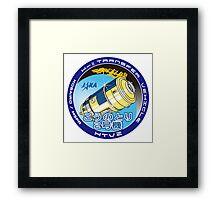JAXA H11 Mission Patch Design Framed Print