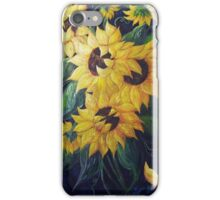 Dancing Sunflowers iPhone Case/Skin