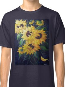 Dancing Sunflowers Classic T-Shirt