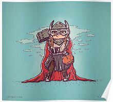 Thor Trick or Treat Poster