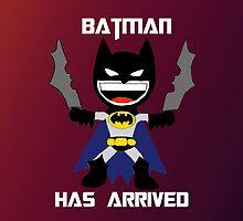 Batman has arrived. by Rowans Designs