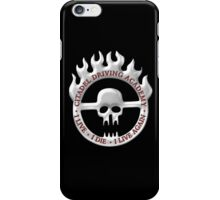 Citadel Driving Academy - White iPhone Case/Skin