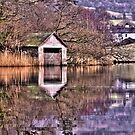 Rydal Water Boat House  by Darren Kitchen