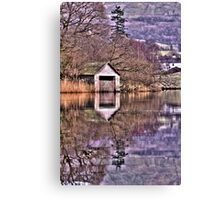 Rydal Water Boat House  Canvas Print