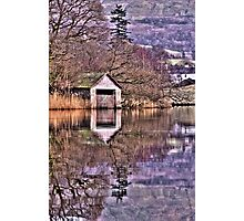 Rydal Water Boat House  Photographic Print