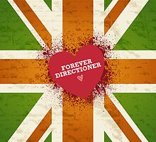 One Direction - Forever Directioner - iPad by Adriana Owens