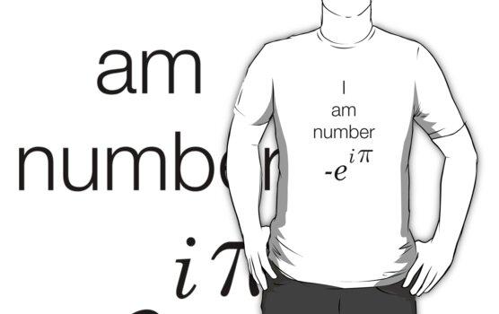 I am number -e^i(pi)  by SusieMcLaren