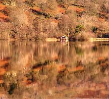 Boat House reflections by Darren Kitchen