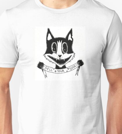 Sell your soul cat Unisex T-Shirt