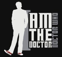 Doctor Who - I am the Doctor (TEN) (dark textiles) by glassCurtain