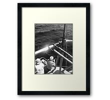 Old Man & The Sea Framed Print