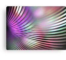 Shiny Purple Shell Metal Print