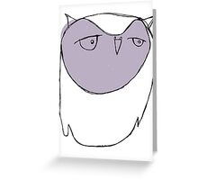 Blank Space, Baby Greeting Card