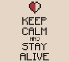 Keep calm stay alive No.1 by hardwear