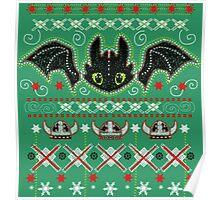 Snoggletog Knit Poster