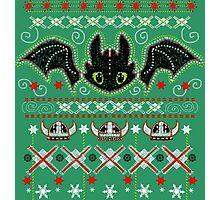 Snoggletog Knit Photographic Print