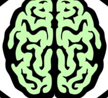 Atomic Nucleus Brain Sticker