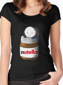 Cry and His Nutella Women's Fitted Scoop T-Shirt