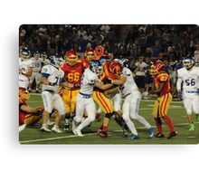 Holy Bowl Game Canvas Print