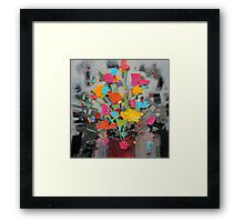 Bouquet of Colour Framed Print