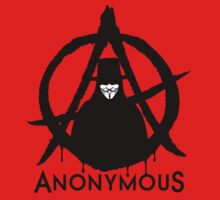 Anonymous Vendetta Kids Clothes