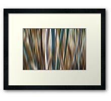 Pretty Lines Framed Print