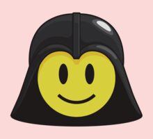 Darth Smiley Icon Kids Clothes