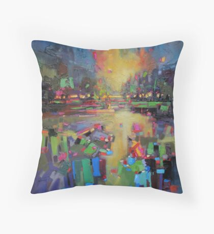 Transition Throw Pillow