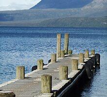 Lake Tarawera by jlv-