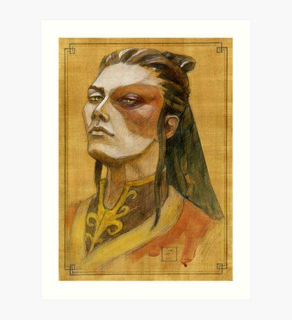 Lord Zuko Art Print